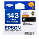 T143151 EPSON 原廠 (No.143) 高印量XL雙黑超值包 適用 ME960FWD/ME900WD/ME940FW/ME82WD/WF-7011/7511/7521/WF-3521