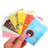 【小女孩雙卡套】韓系雙面2位卡夾 可愛2卡位證件套 卡片套 信用卡 悠遊卡 金融卡
