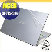 【Ezstick】ACER Swift 3 SF315 SF315-52G 透氣機身保護貼(含上蓋貼、鍵盤週圍貼、底部貼