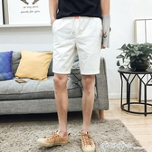 夏季新款男士運動休閒短褲男裝薄款5五分褲速干大褲衩沙灘馬褲潮 西城故事