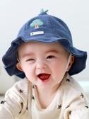 嬰兒帽子秋冬新生幼兒0-3月男女兒童帽子寶寶純棉漁夫帽可愛超可愛