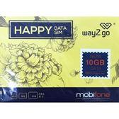 【新版特惠】越南10日(10GB)附通話無限量國際上網卡+通話卡