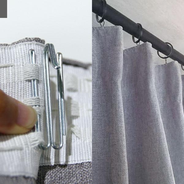 布簾‧紗簾窗簾 打摺窗簾鉤針(7入) 適用布頭織帶/傳統鉤針式窗簾軌道【MSBT 幔室布緹】