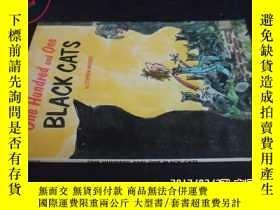 二手書博民逛書店One罕見hundred and one BLACK CATS5