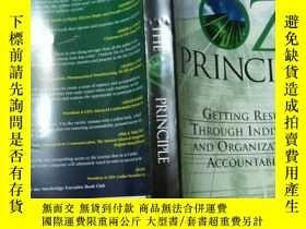二手書博民逛書店The罕見OZ Principle:getting result