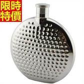 隨身酒壺-俄羅斯風情不銹鋼戶外圓形金屬4盎司攜帶瓶66k46[時尚巴黎]