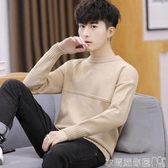 特賣毛衣男裝秋冬圓領韓版個性潮流寬鬆打底衫線衣加厚男士針織衫