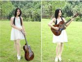 吉他-38寸民謠木吉他初學者吉他學生新手練習青少年入門男女通用 大降價!免運85折起!
