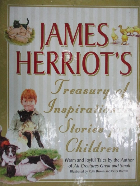 【書寶二手書T1/兒童文學_HMZ】James Herriot s Treasury of Inspirational...
