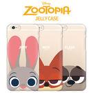 韓國 Zootopia 動物方城市 透明軟殼 手機殼│iPhone 5S SE 6 6S 7 8 Plus X S7 Edge S8 S9 Note5 Note8│z7191