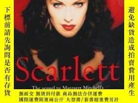 二手書博民逛書店Scarlett罕見: The Sequel To Margaret Mitchell s gone With