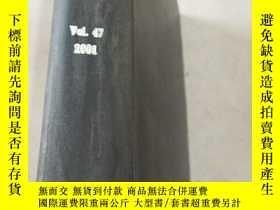 二手書博民逛書店plastics罕見technology Vol.47 2001