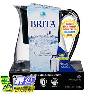 [106美國直購] Brita Monterey Water Filter 10-Cup Pitcher 過濾器
