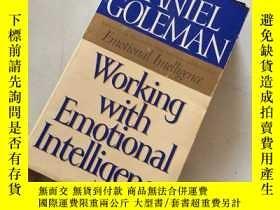 二手書博民逛書店working罕見with emotional lntelligence運用情商工作Y25607 workin