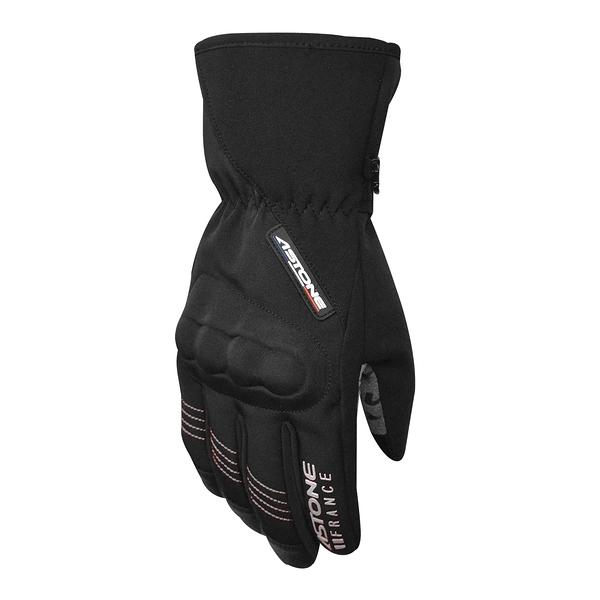 【東門城】ASTONE GA50 冬季防風防水保暖手套(黑銀)