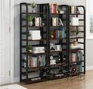 書架置物架簡約落地省空間鐵藝兒童置物櫃收納小櫃子家用簡易書櫃 HM衣櫥秘密