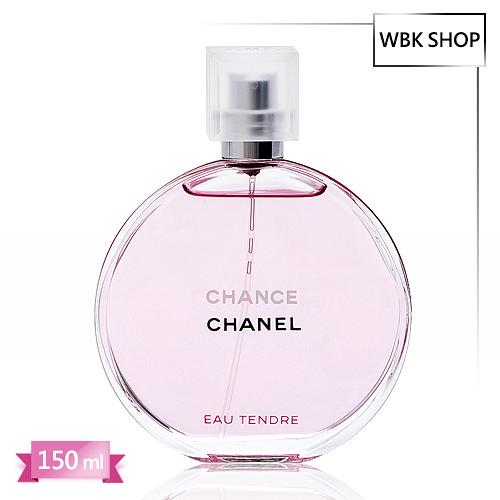 CHANEL 香奈兒 CHANCE香水 粉紅甜蜜版 淡香水 150ml - WBK SHOP