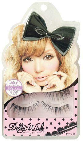 KOJI Dolly Wink 甜蜜娃娃 NO.1 (2副入附膠水)【益若翼代言】【七三七香水精品坊】