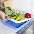 長方形雙層瀝水盤 托盤 大 蔬菜 手提 ...