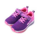SPEED 飛織氣墊運動鞋 紫 大童鞋 鞋全家福