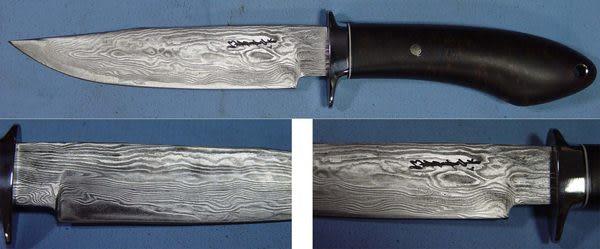 郭常喜與興達刀具--郭常喜限量手工刀品-小獵刀(A0047)