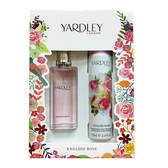 Yardley English Rose 英倫玫瑰淡香水- 香氛禮盒組