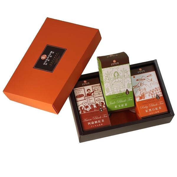 【HUGOSUM】日月潭紅茶 故事集茶包禮盒(石玉薩)