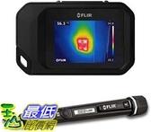 [9美國直購] FLIR 熱像儀 FLIR C3 Pocket Thermal Camera with WiFi and FLIR MR40 Moisture Pen with Built in Flashlight