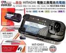 ✚久大電池❚ 日立 HITACHI 電動工具電池充電器 7.2V~18V 鎳鎘/鎳氫/鋰 工具充電器 110V~240V