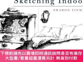 二手書博民逛書店Sketching罕見Indoors-室內素描Y414958 Sharon Finmark P... Oct