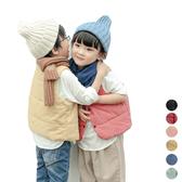 小清新鋪棉背心 中性款 夾克 外套 背心 橘魔法 男童 女童 現貨 兒童 童裝
