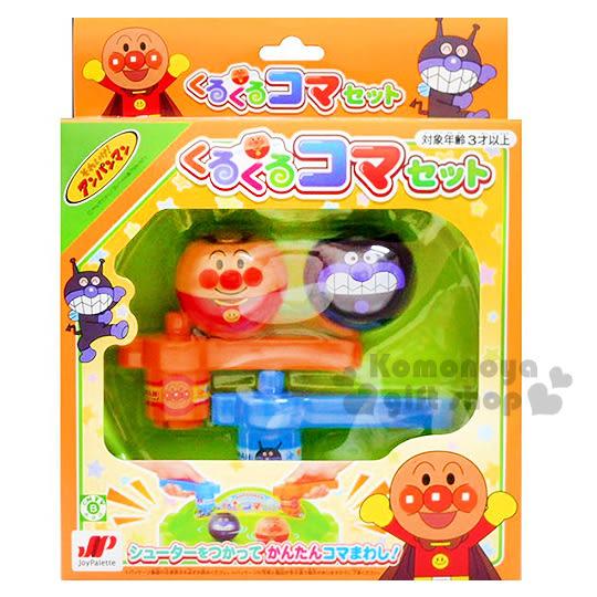 〔小禮堂〕麵包超人 雙人陀螺玩具組《大臉.細菌人.盒裝.3歲以上》增加親子互動 4975201-18081