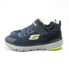 Skechers FLEX ADVANTAGE 3.0 中童鞋 魔鬼氈 98143LNVBK 藍綠【iSport愛運動】