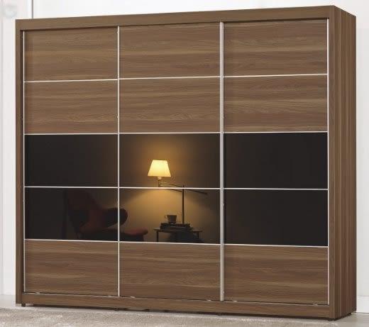 【南洋風休閒傢俱】臥室系列-維爾達7.5尺拉門衣櫥 2016新款(CM021-7)