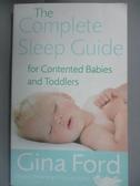 【書寶二手書T2/保健_JRU】The Complete Sleep Guide for Contented Babie