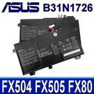 ASUS B31N1726 3芯 . 電池 FX504 FX504GD FX504GE FX504GM FX505 FX505DY FX505GD FX505GE FX505GM FX505DD