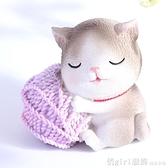 小貓咪家居裝飾品卡通可愛擺件少女心桌面擺設生日 送女生開春特惠