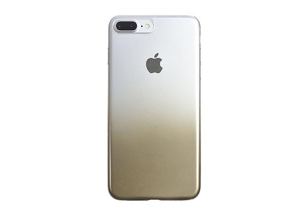【唐吉】POWER SUPPORT iPhone 8/7 Plus Air Jacket 漸層金色款(UPBK-62)