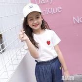 女童新款短袖2019夏季兒童棉質T恤時尚半袖上衣CY1232【原創風館】