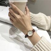 復古文藝風女生小清新款百搭手錶女學生韓版簡約潮流伊芙莎
