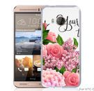 ✿ 3C膜露露 ✿【花花世界*硬殼】HTC ONE ME手機殼 手機套 保護套 保護殼