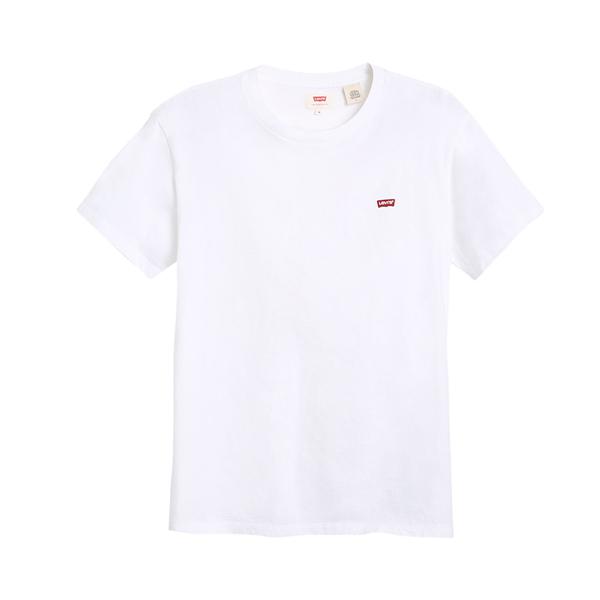 Levis 男款 短袖T恤 / 迷你刺繡Logo徽章 / 白