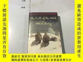 二手書博民逛書店英文原版:the罕見call of the wild and w
