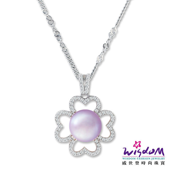 威世登-珍愛璀璨系列-幸運天然珍珠項鍊 - PB00021-CIHX