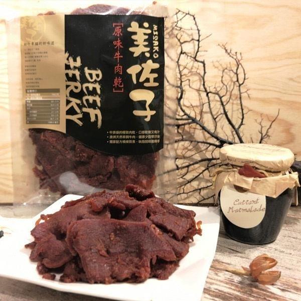 【南紡購物中心】美佐子.肉乾系列-原味牛肉乾(150g/包,共2包)﹍愛食網