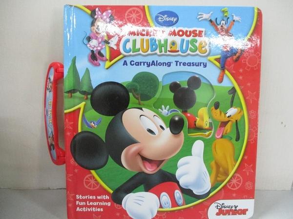 【書寶二手書T1/兒童文學_KF1】Disney's Mickey Mouse Clubhouse Carryalong Treasury