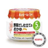 日本 KEWPIE A6 綜合野菜米泥/寶寶粥70g (5個月以上適用)