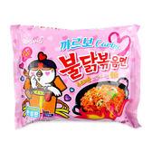 韓國 SAMYANG 三養 奶油白醬火辣雞肉鐵板炒麵 130g ◆86小舖 ◆