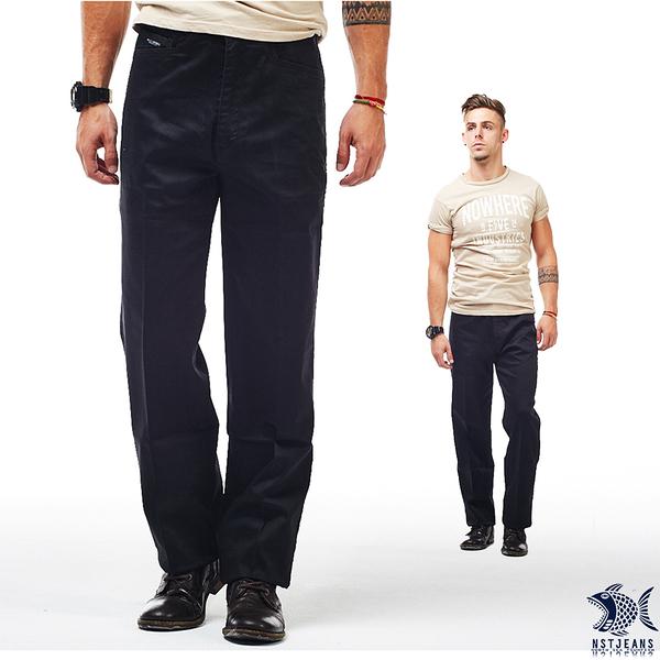 【即將斷貨】NST Jeans_Noir 偏光黑 迪斯可光芒印花 休閒直筒男褲(中腰) 390(2002) 台製 四季款