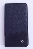 Redberry New HTC One (X810e) 專用側掀式 手機保護皮套 黑色